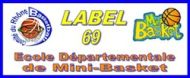 Logo mini basket CD69